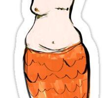 Mastectomy Mermaid Sticker