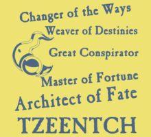 Tzeentch, Architect of Fate Blue Kids Clothes