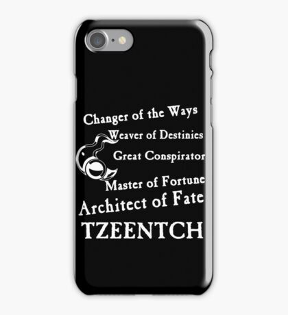 Tzeentch, Architect of Fate iPhone Case/Skin