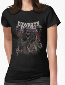 Cowboys From Hell Womens Fitted T-Shirt