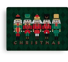 The Christmas Nutcrackers Canvas Print