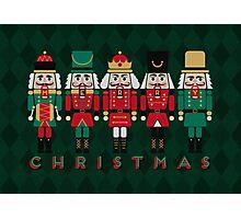 The Christmas Nutcrackers Photographic Print