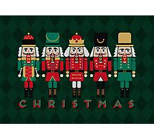 The Christmas Nutcrackers Photographic Print