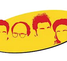 Seinfeld Silhouettes by maddytees