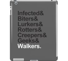 Walkers (Walking Dead) iPad Case/Skin