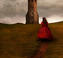 Girl in red by JBlaminsky