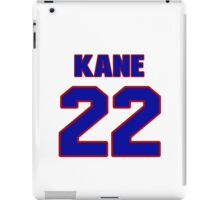 National Hockey player Boyd Kane jersey 22 iPad Case/Skin