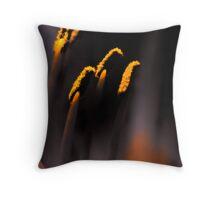 Vibrant Pollen Throw Pillow