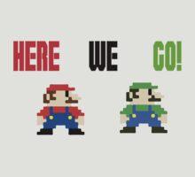 Pixel Bros.  by TrezzeDesigns