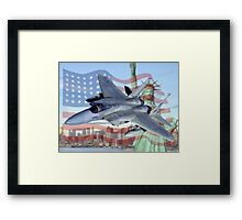 F-15 Eagle Framed Print