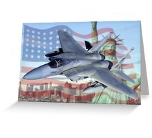 F-15 Eagle Greeting Card