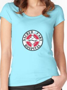 Sacred Fart Hospital Women's Fitted Scoop T-Shirt