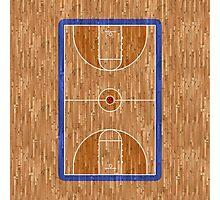 Basketball Court Photographic Print