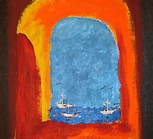 Three Ships by Kmuzu