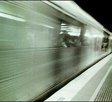 and the train goeth...... by Juilee  Pryor