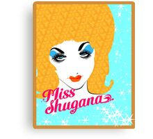 Miss Shugana 2014 Canvas Print