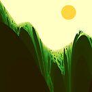 Verdant Hills by Owen Kaluza