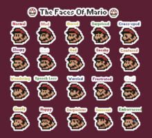 Faces of Mario by shpalman85