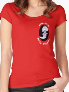 Halloween Party organiser Women's Fitted Scoop T-Shirt