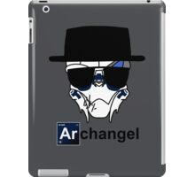I am the Archangel (with black text) iPad Case/Skin