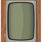 Old Wooden TV by PixelRider
