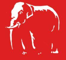 elephant t-shirts Kids Tee