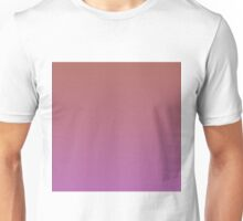 Beautiful Cushions/ Gradient Marsala/ Radiant Orchid Unisex T-Shirt