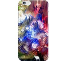 Multi Colored Acrylics Texture iPhone Case/Skin