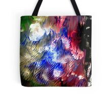 Multi Colored Acrylics Texture Tote Bag