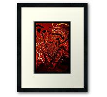 Hell! Framed Print