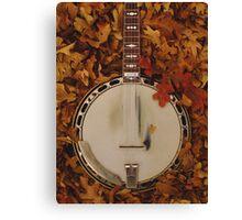 Banjo Fall Canvas Print
