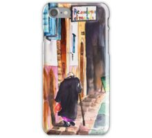 Old And Lonely In Morocco 03 iPhone Case/Skin