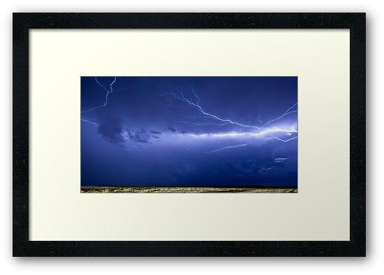 Lightning over Jackson by Craig Hender