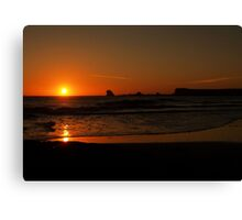 End of the Day Canvas Print