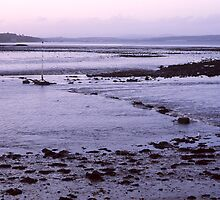 Cold Sunset at Cramond by PigleT