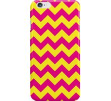 Ziggy Zag Pink and Yellow iPhone Case/Skin