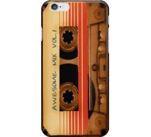 Retro tape cassette Awesome Mix Vol 1 iphone mobile phone cases covers skins iPhone Case/Skin