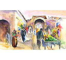 Medina Of Essaouira Photographic Print
