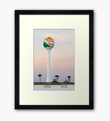 Pensacola Beach Framed Print