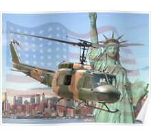 UH-1 Iroquois Poster