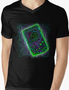 neon punk gameboy Mens V-Neck T-Shirt