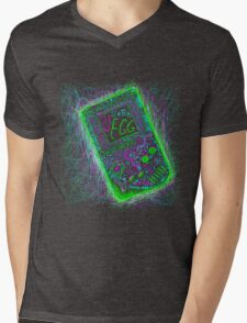 neon punk gameboy Mens V-Neck T-Shirt