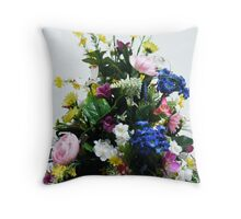 flower boutique Throw Pillow