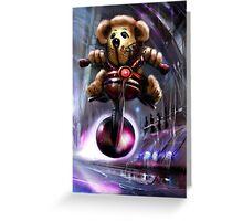 TeddyDawg Greeting Card