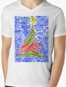 Oh Christmas Tree Mens V-Neck T-Shirt