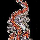 chrome dragon by Derek Mullins