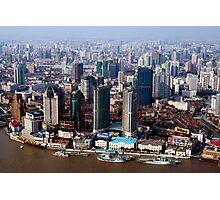 Shanghai City Photographic Print