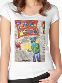 It Came Upon a Midnight Clear Women's Fitted Scoop T-Shirt