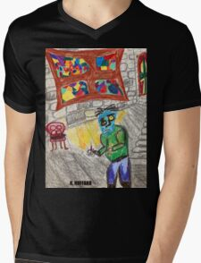 It Came Upon a Midnight Clear Mens V-Neck T-Shirt