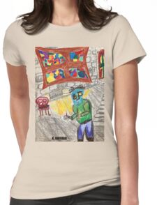 It Came Upon a Midnight Clear Womens Fitted T-Shirt
